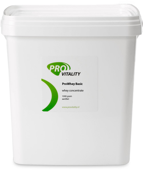 ProWhey Basic concentrate Aardbei